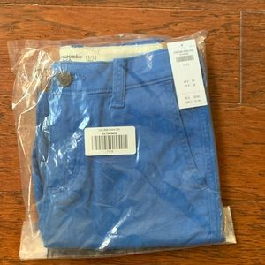 Abercrombie kids short blue dress